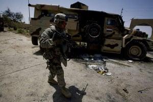 Sean Smith in Iraq