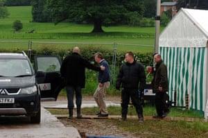 John Bolton at Hay Festival