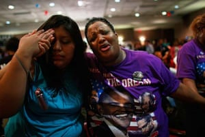 Obama supporters in Alabama