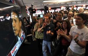 Hong Kong Obama celebrations