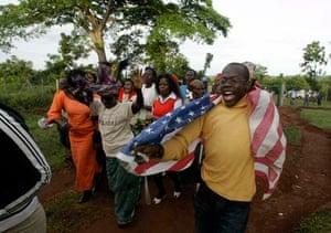 Obama's family in Kenya