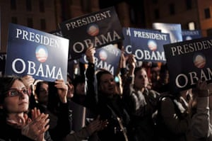Obama rally in Rome