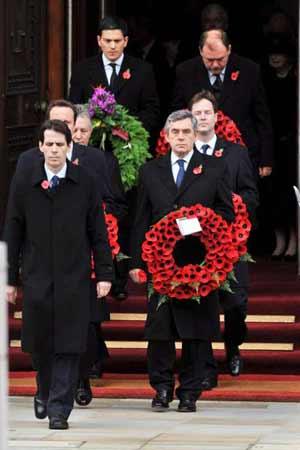 Remembrance Day - Gordon Brown