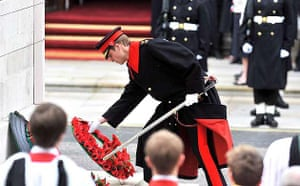 Remembrance Day - Prince William