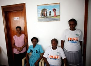A group of Chagossian people in Mauritius who want to return to Diego Garcia Island in the Indian Ocean. The residents of the Chagos islands were removed in 1971 to make way for a military base
