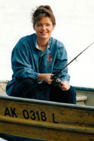 Sarah Palin fishing
