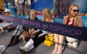 Launch of Kate Moss for Topshop