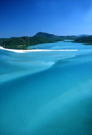 Whitehaven Island, Whitsundays, Queensland, Australia