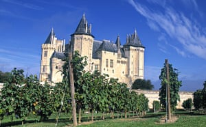 A chateau in the Loire valley