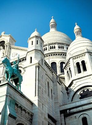 The Basilique Sacré-Cœur, Paris