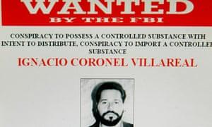 Ignacio Coronel FBI poster