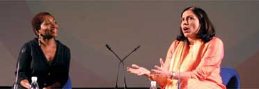 Mira Nair at the Guardian/NFT interview