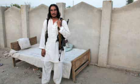 A fighter with the Abdullah Mehsud group