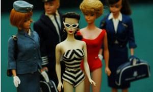 Auction of Barbie dolls