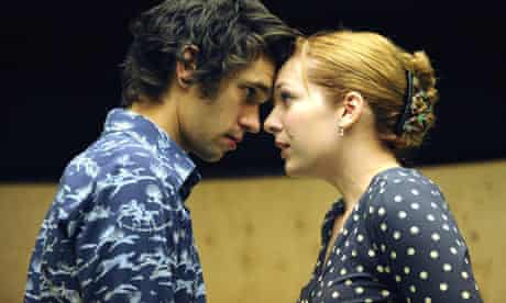 Katherine Parkinson and Ben Whishaw in Cock