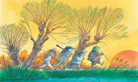 Illustration by Michael Foreman from The WInd in the Willows