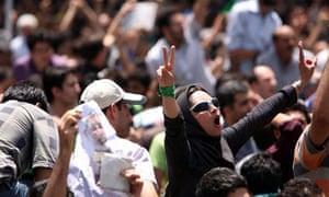 Mousavi supporters