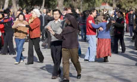 Dancing in China