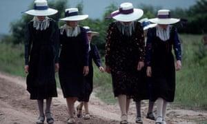 Mennonite Women in Traditional Dress, Bolivia