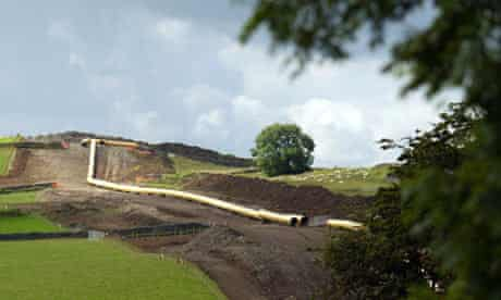 The National Grid pipeline