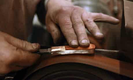 Making a pocket knife