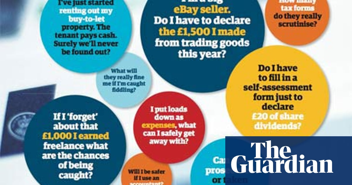 Tax Returns The Questions You Re Too Afraid To Ask Money The Guardian