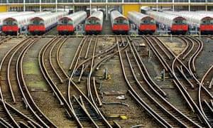 London Underground trains