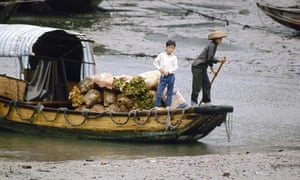 Boat people in China