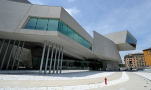 A view of the Maxxi building