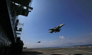 Harrier jets aircraft carriers