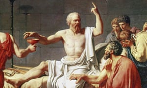 Death of Socrates, David