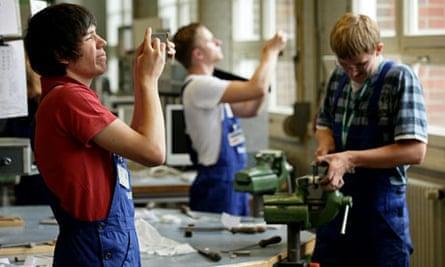 Mechanical engineering trainees