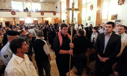 al-qaida christians iraq attack church