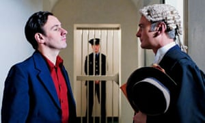 Michael Condron (left) as McGladdery BBC docudrama about the Newry killing