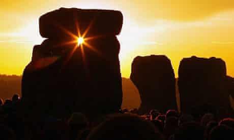 Summer Solstice Celebrated In Stonehenge