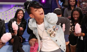 """Willow Smith Visits BET's """"106 & Park"""" - October 18, 2010"""