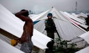 UN alerts about spread of Cholera epidemic haiti