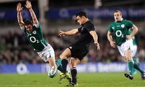 Rugby Union - Investec Perpetual Series 2010 - Ireland v New Zealand - Aviva Stadium