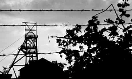 disused colliery in Fife