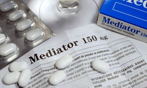 mediator drug pills and packaging