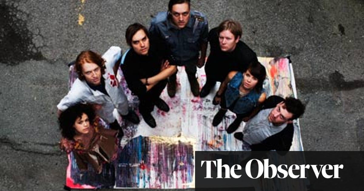 Arcade Fire: 'We're not a band that's out to party until we die