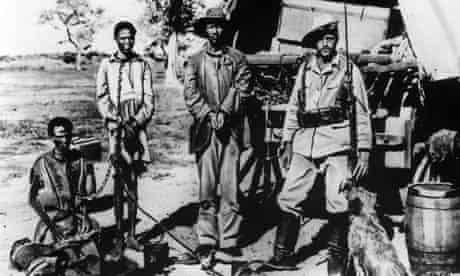 Gefangene Hereros in Deutsch-Sdwest-Afrika