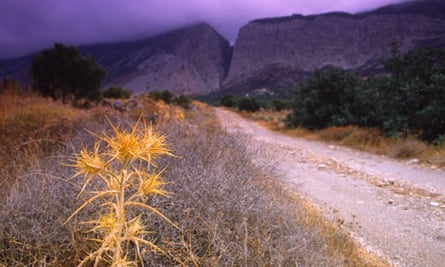 In the highlands of eastern Crete near Monastiraki