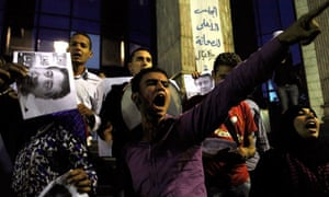 egypt election protest