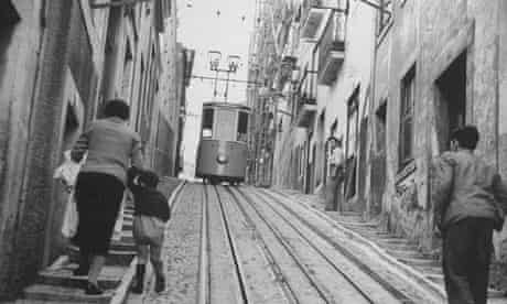 street scene in Lisbon