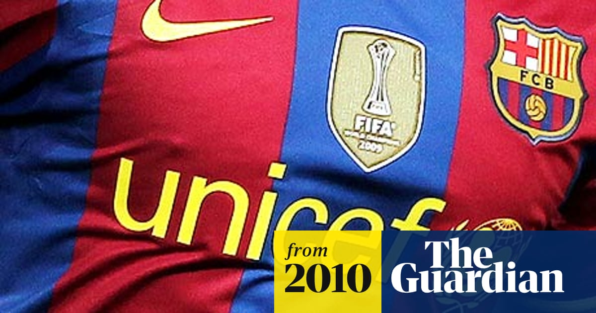 Barcelona Sign Record 25m A Year Shirt Sponsorship Deal With Qatar Charity Barcelona The Guardian