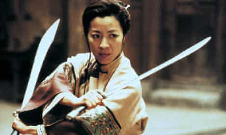 MICHELLE YEOH as Yu Shu Lien CROUCHING TIGER, HIDDEN DRAGON