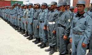 Conclusion of the training of Afghan Police
