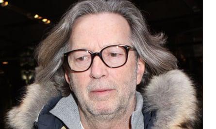 Eric Clapton in New York, America - 20 Feb 2010
