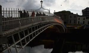 Dublin river Liffey